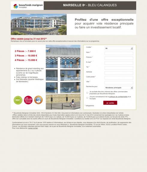 Marseille 8ᵉ - Bleu Calanques - Bouwfonds Marignan Immobilier