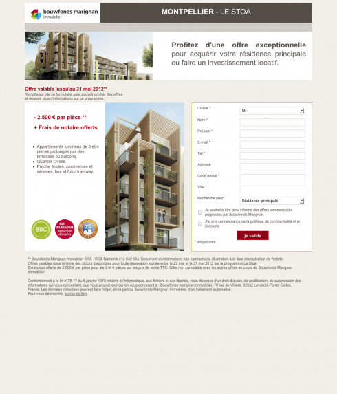 Montpellier - Le Stoa - Bouwfonds Marignan Immobilier