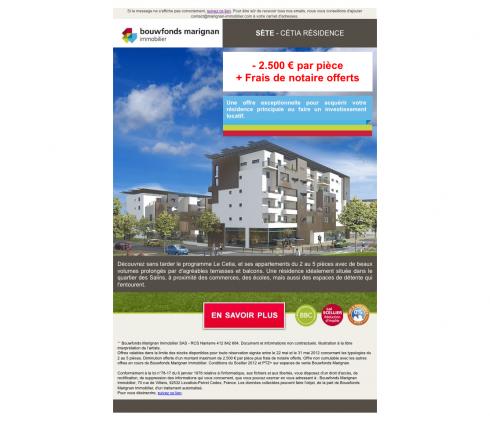 SÈte - Cétia Résidence - Bouwfonds Marignan Immobilier