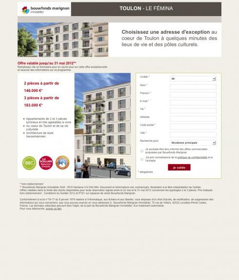 Toulon - Le Fémina - Bouwfonds Marignan Immobilier