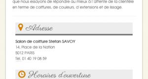 savoy Accueil phone