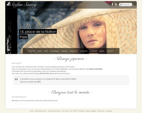 Savoy Page actualité